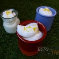 recetas dulces, mousse de limon express, espuma de limon, tapas dulces, sweet tapas