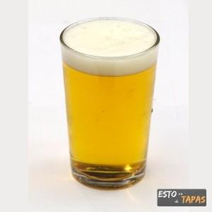 cañas y tapas, pincho y caña, caña de cerveza, tapa y caña, spanish beer