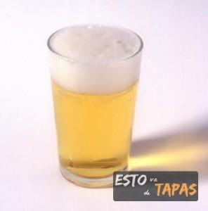 clara de cerveza, cañas y tapas, pinchos y cerveza, bar de tapas zaragoza