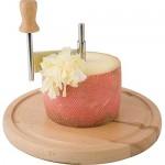 cuchillo queso tete de moine, cuchilla circular para queso, cómo hacer flores de queso, regalos originales para cocinillas