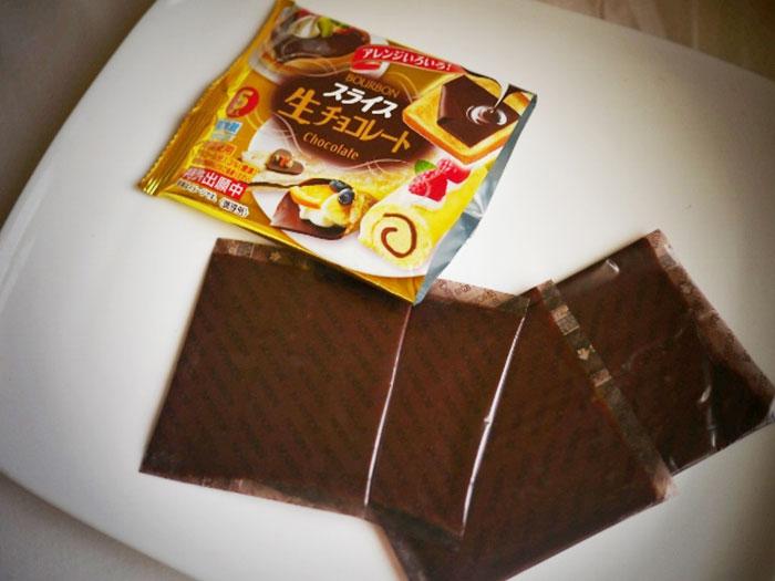 chocolate en lonchas, lonchas de chocolate, tapas con chocolate, tapas originales, inventos japoneses