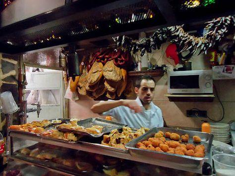 tapas gratis en Madrid, el tigre chueca, cenar gratis en madrid