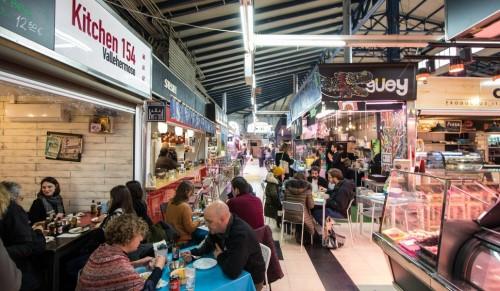 mercados gastronómicos de madrid, mercadod e vallehermoso, mercado de chamberí